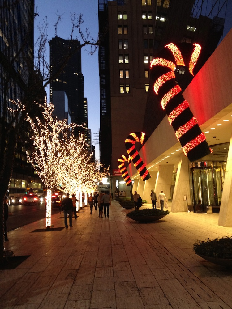 candy canes christmas nyc
