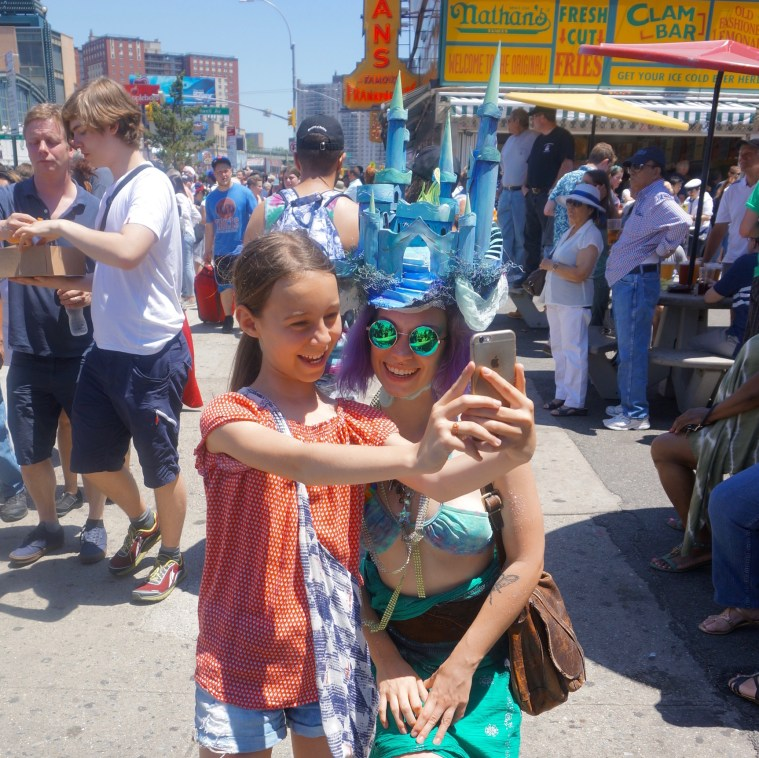 coney island mermaid parade 2