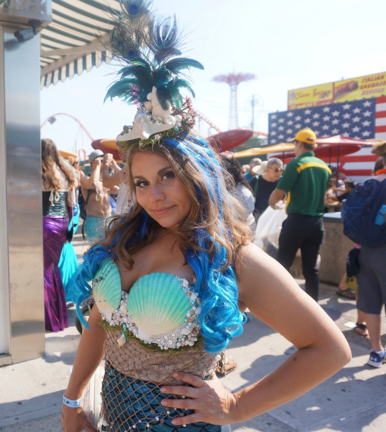 coney island mermaid parade gorg