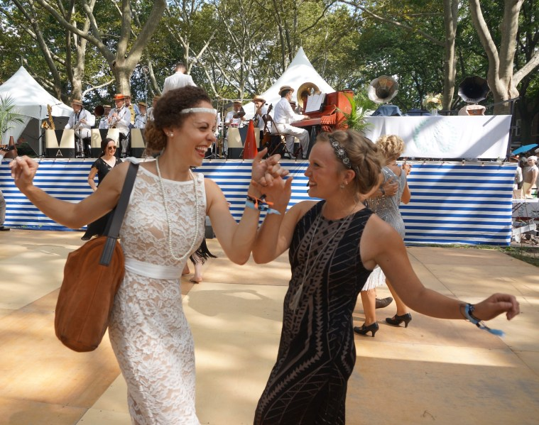 jazz age lawn party laughing