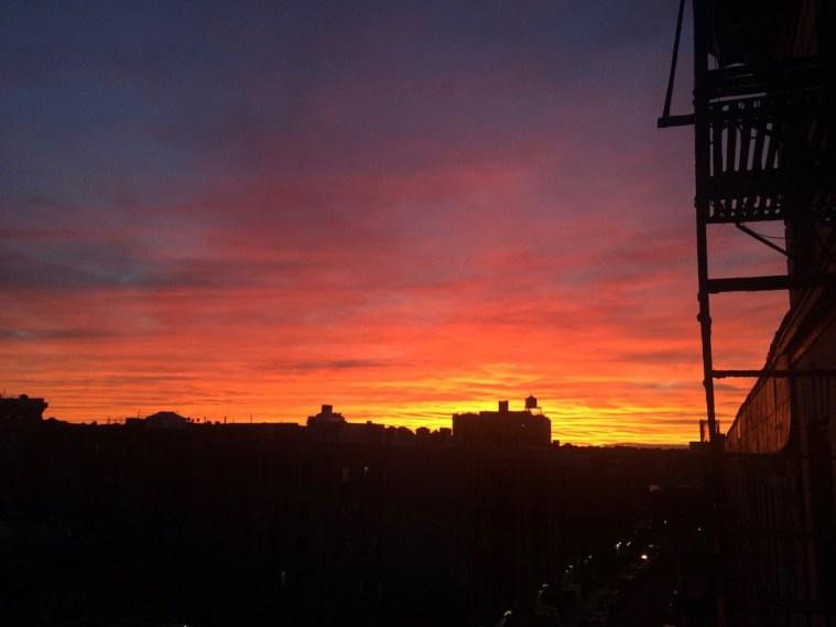 nyc sunset september