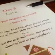 Prayer Journal for Kids Prepares for Christmas