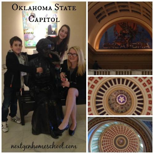 Oklahoma Homeschool Capitol Day Architecture