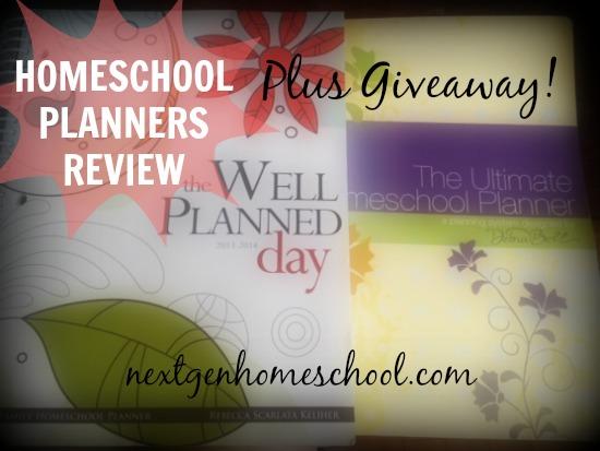 Review: Five Homeschool Planners + Giveaway