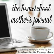 Homeschool Mother's Journal: February 21st
