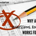 Why a Daily Homeschool Routine Works for Us