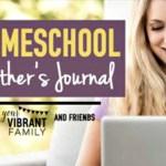 Homeschool Mother's Journal: October 24th