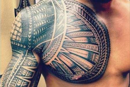 men chest tattoo ideas