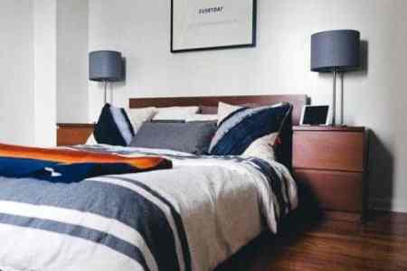 mens black bedroom ideas