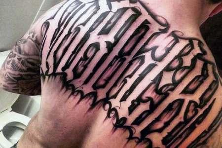 20 Jones Last Name Back Tattoos Ideas And Designs