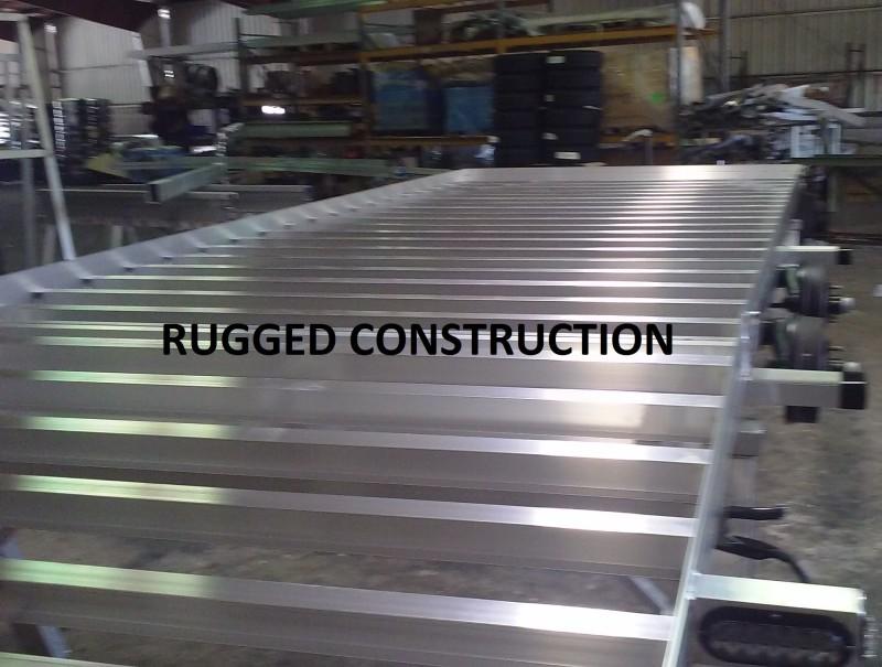 Aluminum Car Construction : Aluminum car haulers
