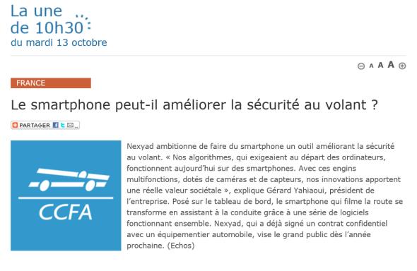 Article CCFA