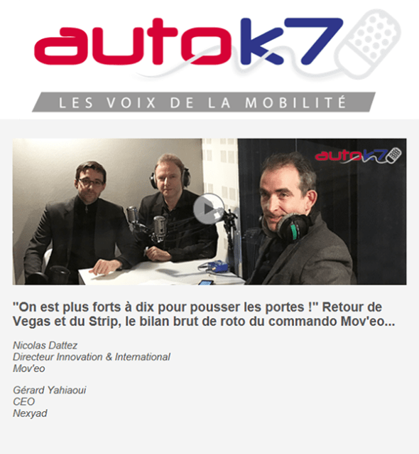 Interview of Gerard Yahiaoui on RadioK7