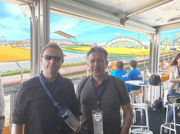 Gérard Yahiaoui and Pierre Da Silva Dias