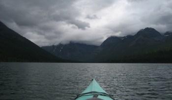 Logging Lake early