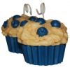 Blueberry Muffin Candle