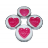 Embedded Heart Lip Balm