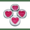 Embedded Heart Lip Balm