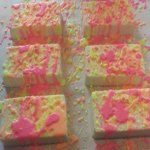 Graffiti Soap Recipe Pink Splatter Soap