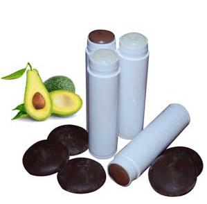 30 Free Lip Balm Recipes: Chocolate Avocado Lip Balm Recipe