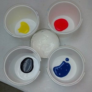 Peeps Cold Process Soap Recipe Preparing the Colorants