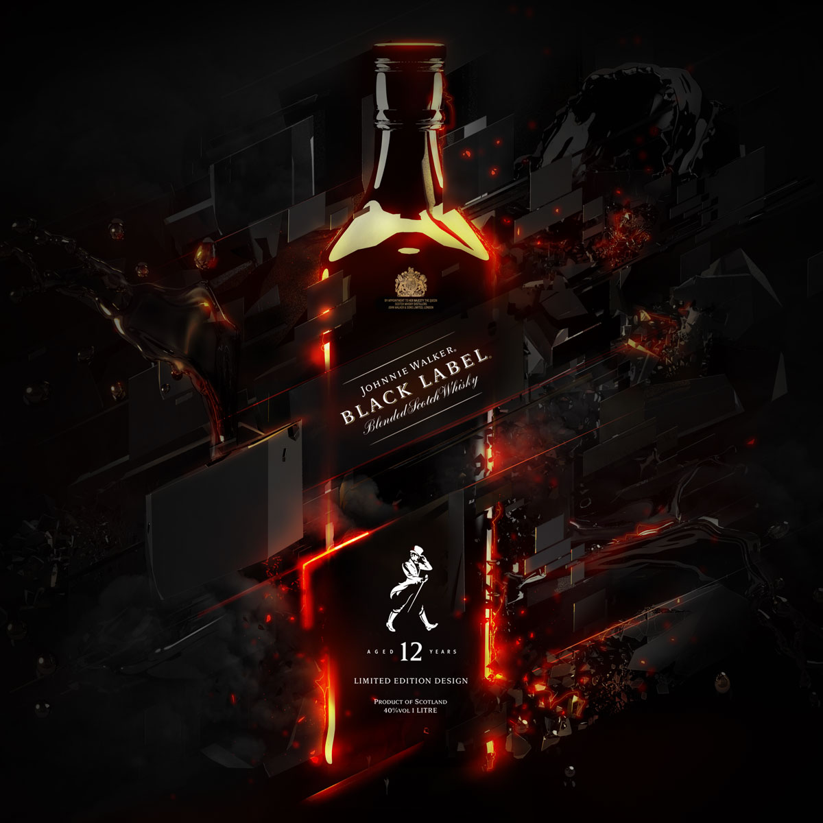 Johnnie Walker Black Electric