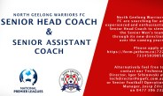 Senior Head Coach and Senior Assistant Coach Positions Available
