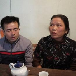 Chị Trần Thị Ninh, vợ liệt sỹ Phan Huy Sơn