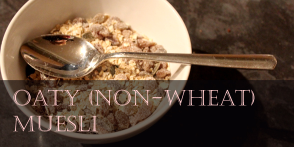 How to make a wheat-free muesli