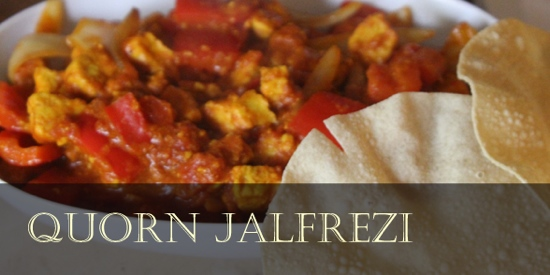 Cake Decorating Quorn : Low fat curry recipe: Quorn Jalfrezi Nice Like Nigella