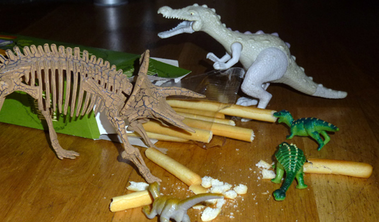 Dinovember has started in our house…