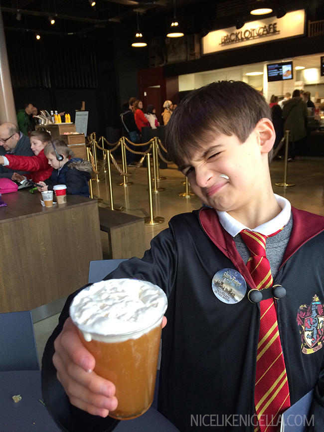 What Butterbeer tastes like