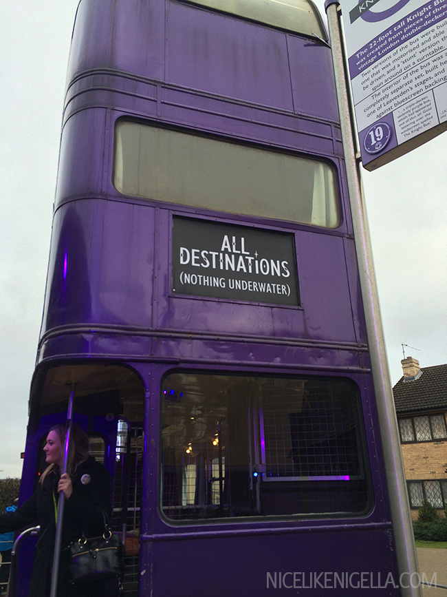 Harry Potter Studios The Knight Bus