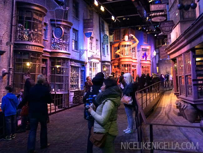 Harry Potter Studios Diagon Alley