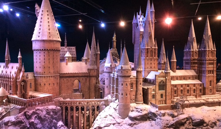 Harry Potter Studios: Hogwarts in the Snow