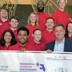 Student Government Association donates funds to Panhandle Warrior Partnership