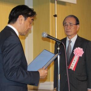 塚田司郎(左)と森澤嘉昭
