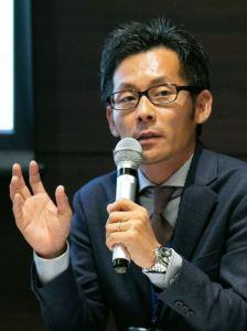 水谷壽芳氏