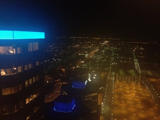 Some of the city from our hotel