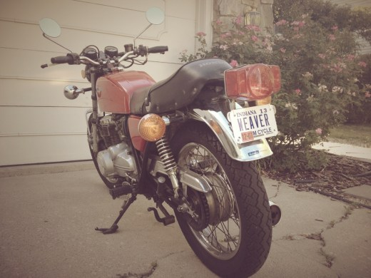 Newly plated bike