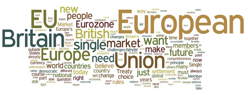 Comparing David Cameron's EU Speech With Obama's Inaugural Address