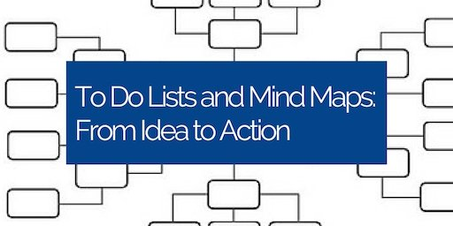 To Do Lists and Mind Maps - From Idea to Action
