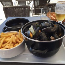 Moules Frites @ Le Quincy, Lesconil
