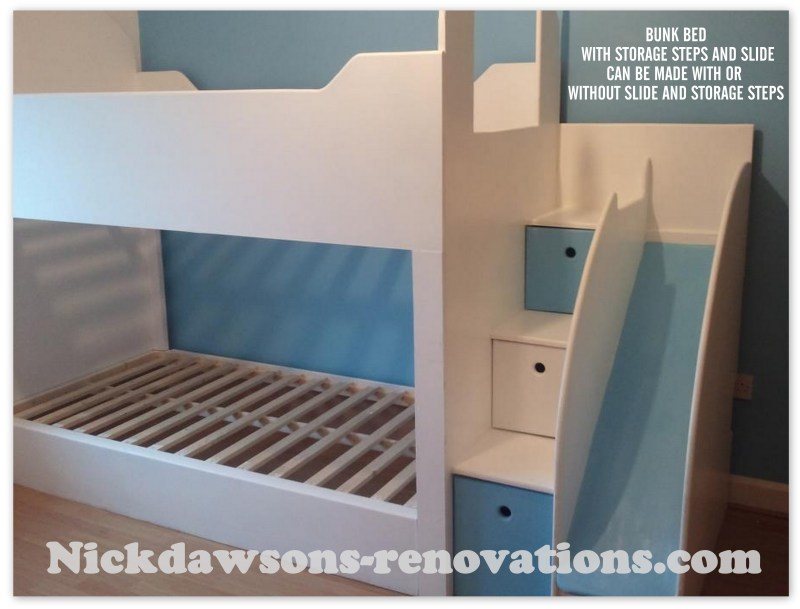 Large Of Built In Bunk Beds