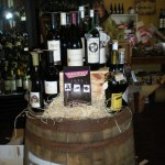 Hmm...which vintage will go best with each of the Daves?  Gibby's Wine Den in Geneva, IL