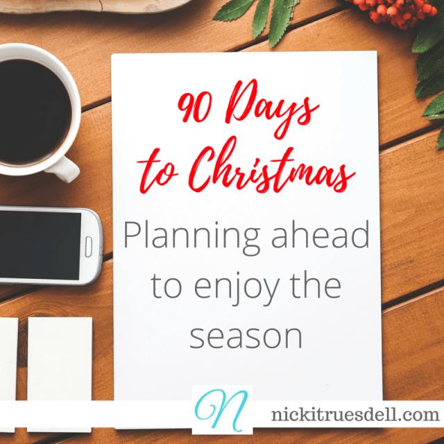 90 Days to Christmas