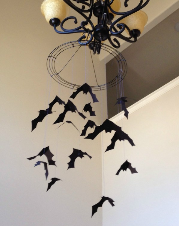 Spooky Halloween Bat Mobile