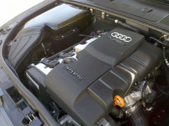 Audi 2.0T Engine with Covers