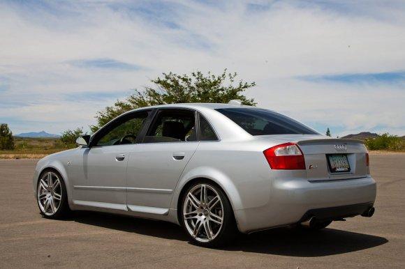 Silver Audi S4