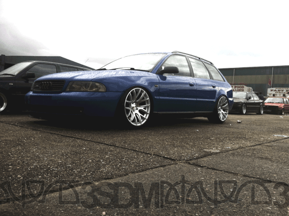 b5 Audi A4 Avant with 3SDM wheels